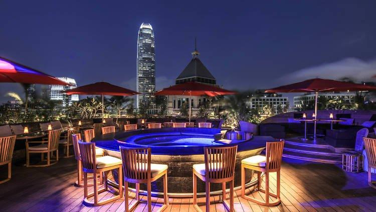 Ce La Vi Rooftop Bar in Hong Kong