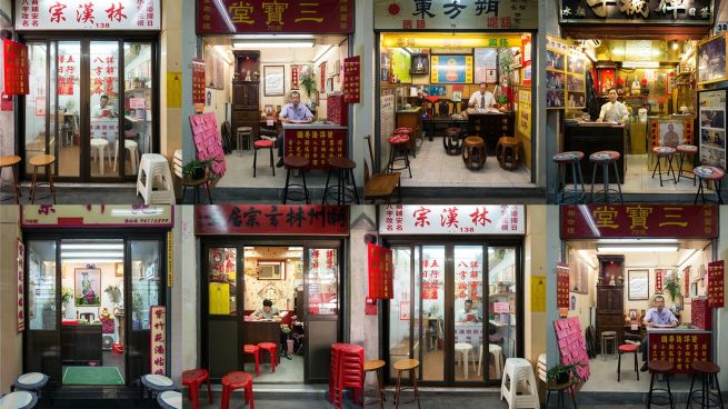 Fortune Tellers Market in Hong Kong