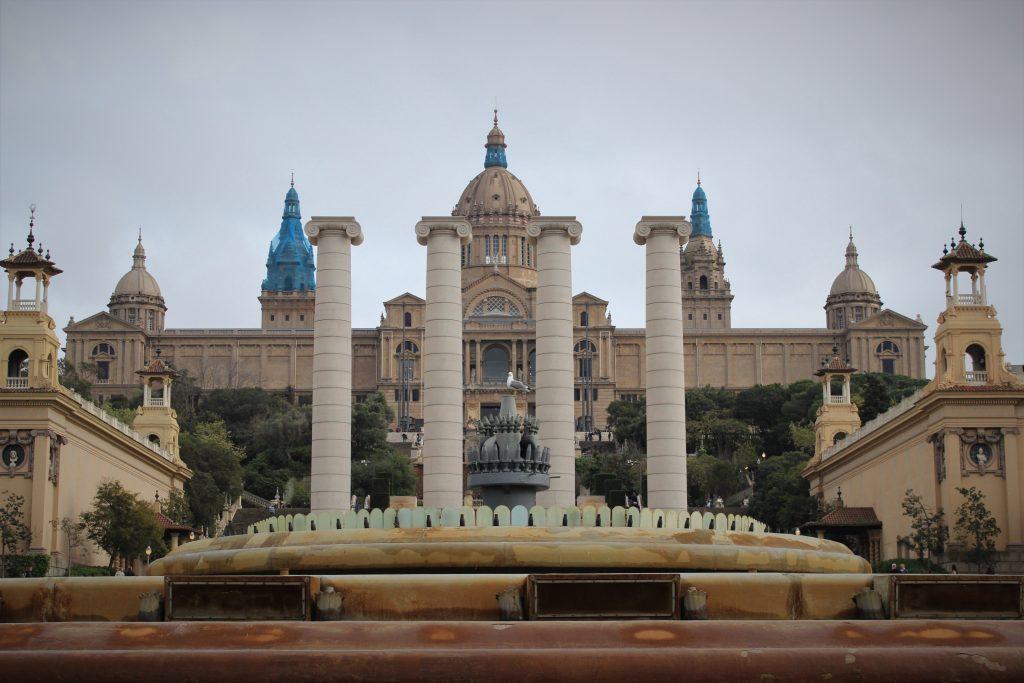 Montjuïc Castle front view