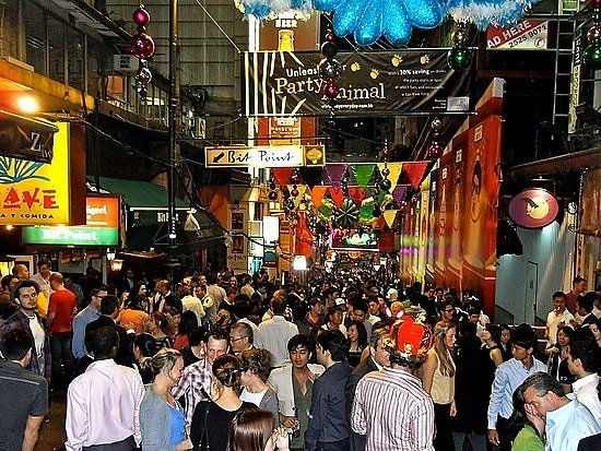 Lan Kwai Fong Night Life in the Streets - Trouveler