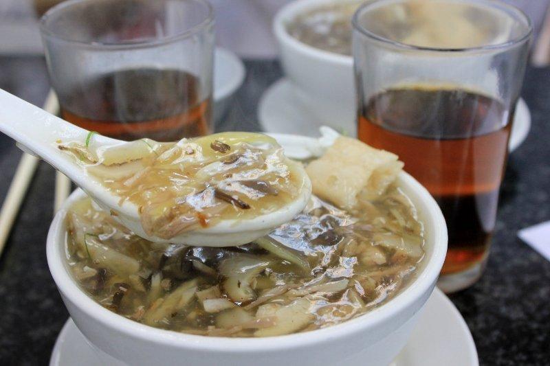 Snake soup in Hong Kong