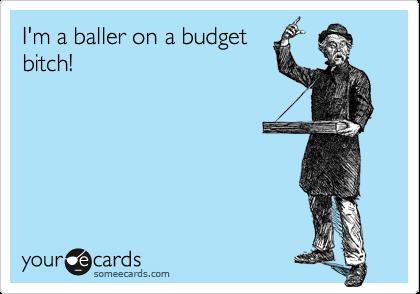 Baller on a Budget Travel Meme