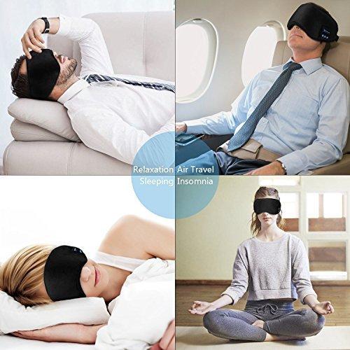 Bluetooth wireless sleep headphones eyemask