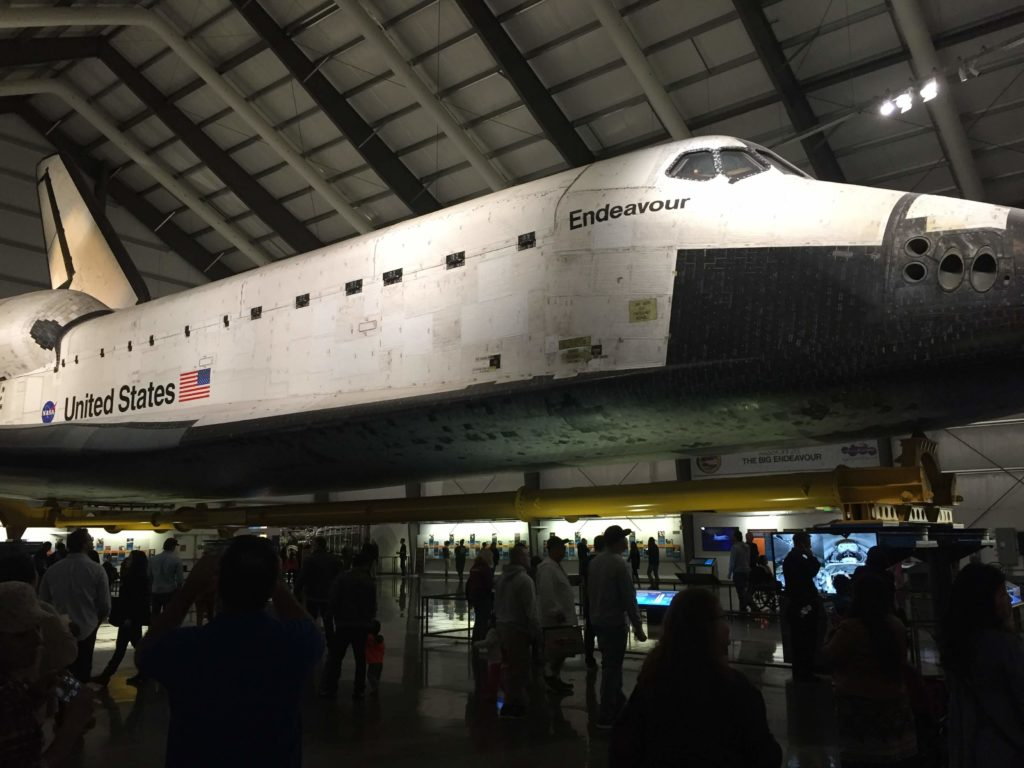 Endeavour Exhibit at California Science Center
