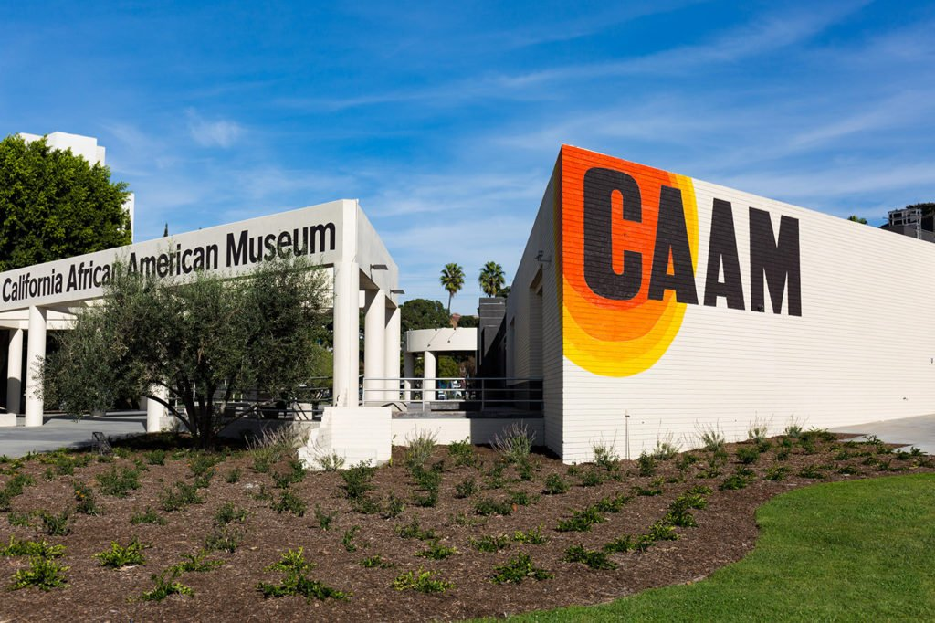 caaam california african american museum exterior building