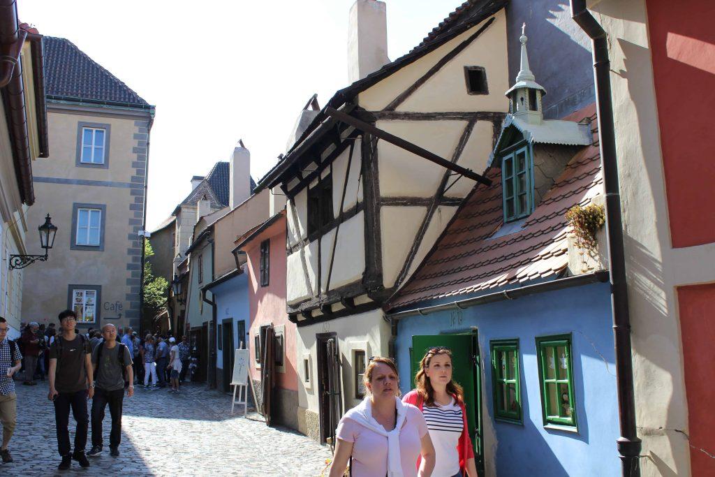 Prague Castle - Golden Lane houses