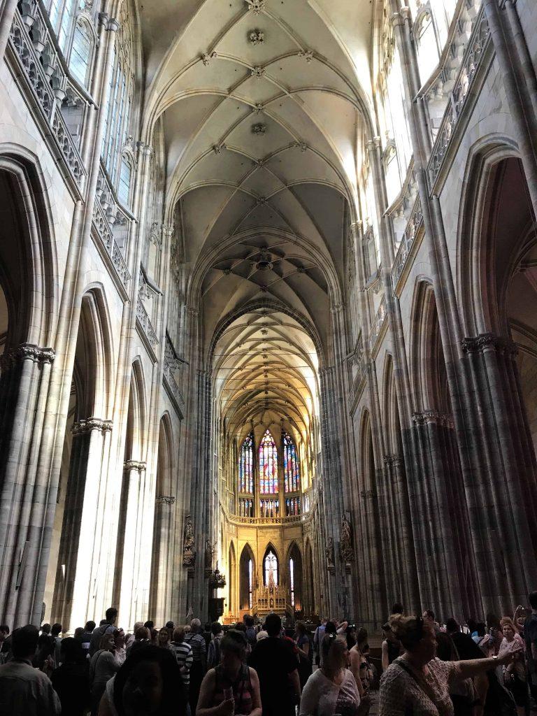 Prague Castle - St Vitus Cathedral interior