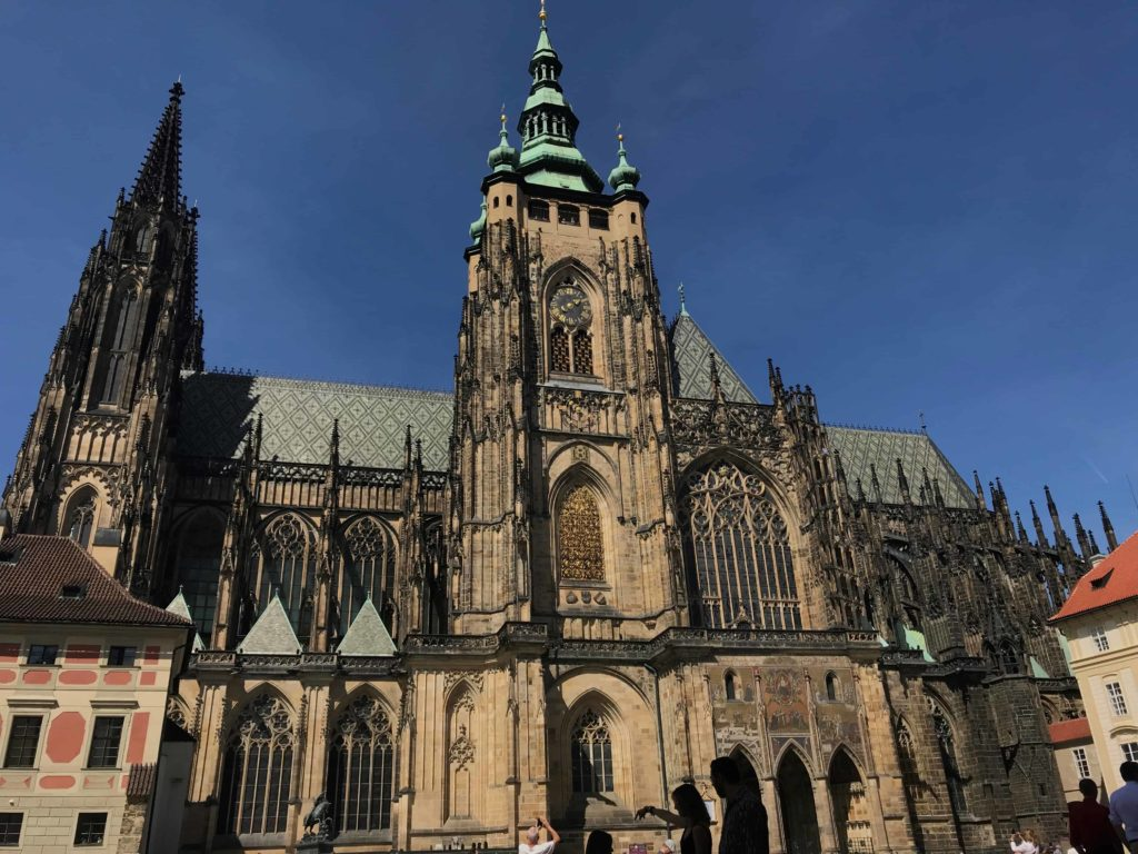 St Vitus Cathedral front photo