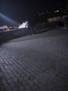 Prague Nightlife - Charles Bridge at night