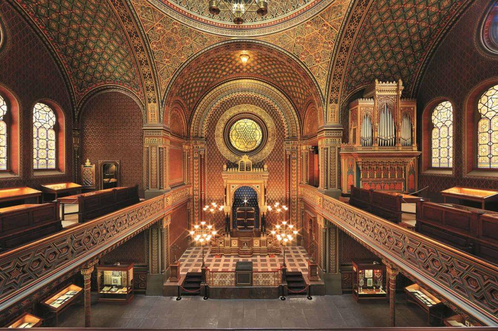 Spanish synagogue in Prague - Interior