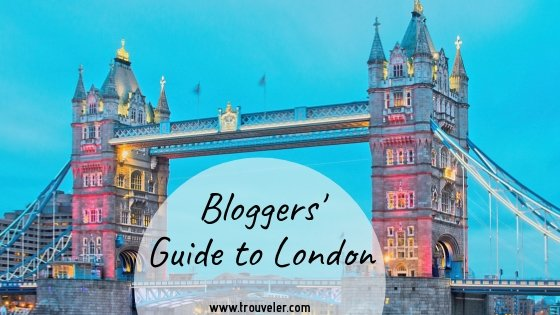 Bloggers' Guide to London - Trouveler.com