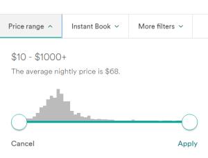 Bright Nomad airbnb-price-range