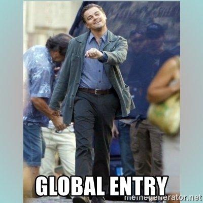 global entry tsa precheck meme