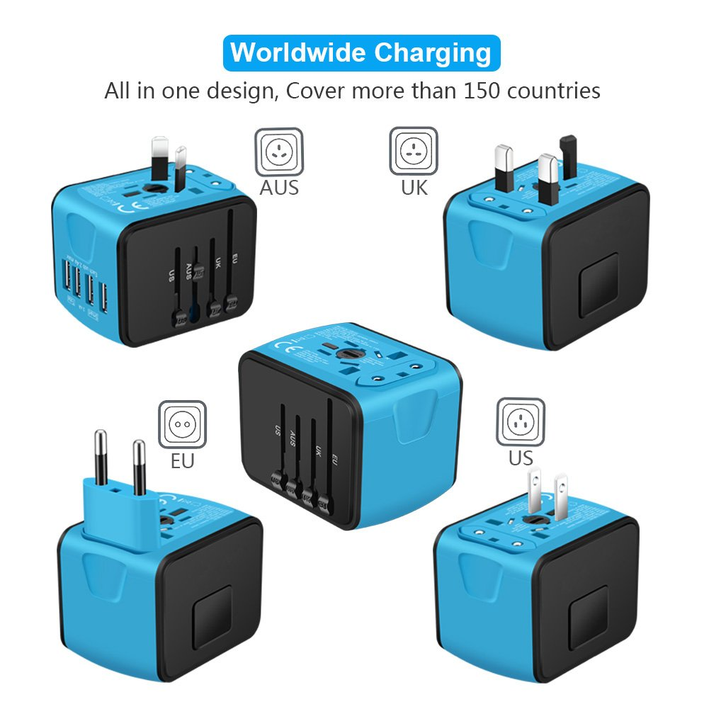 international travel adapter - gift idea for international travel