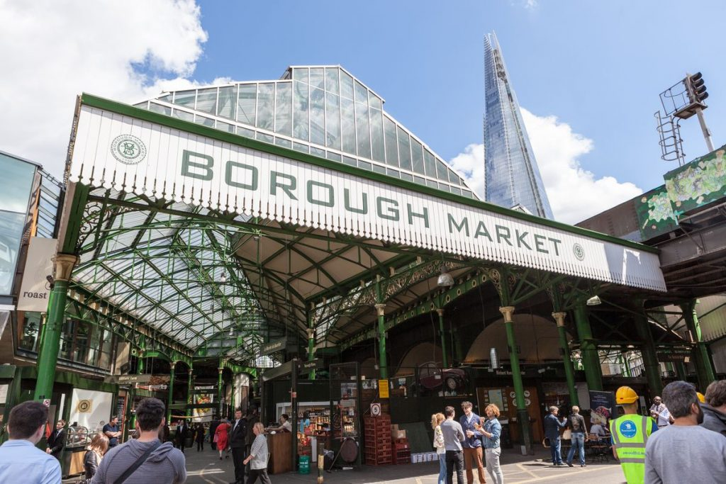 London's Borough Market is great for foodies