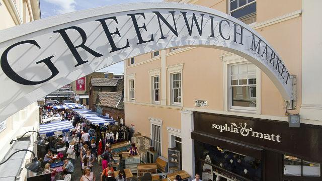 Greenwich Market undiscovered by most foodies