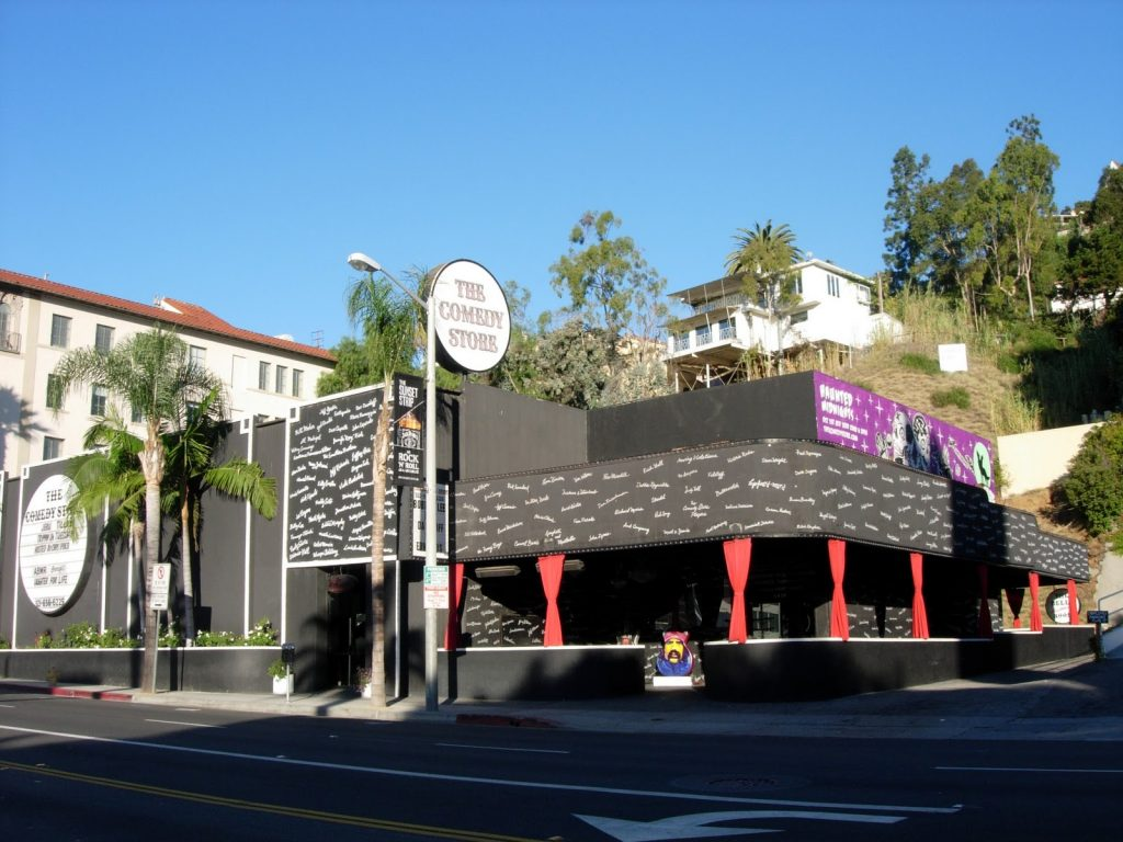 The West Hollywood Comedy Store is the best comedy club in the world