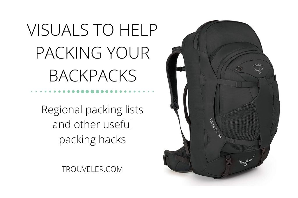 Packing tips and tricks for backpacking the world